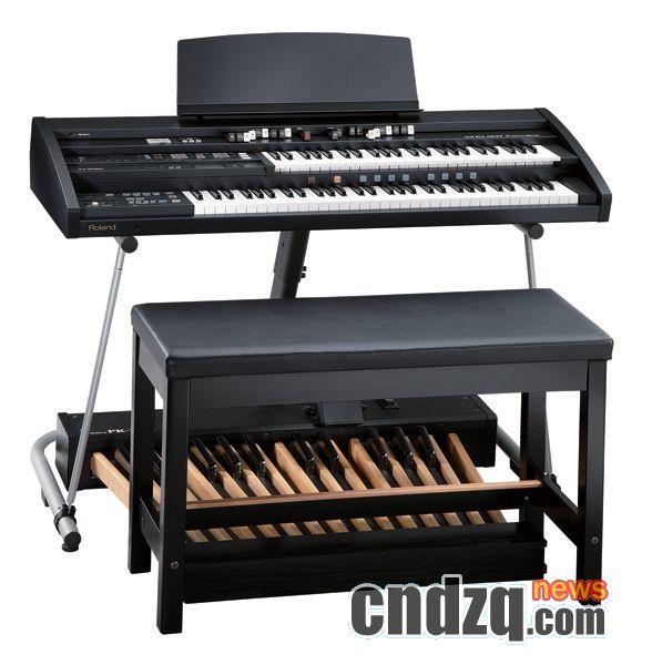roland发布atelier combo at-350c双排电子管风琴图片